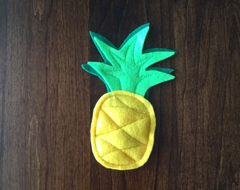 Pineapple Catnip Cat Toy - Tropical Fruit Cat Nip Kitty Toys - Aloha