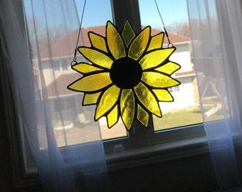 Yellow Flower Suncatcher