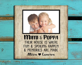 Gifts for Grandparents, Grandparents house, Gift for Nana and Papa, Grandparents PHOTO MAT, Grandparents gift, Grandparents quote,