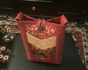 Chevron Cross Body Bag