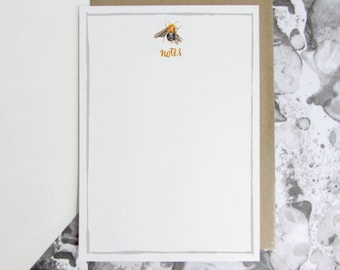 Note Papers - 'Bee'