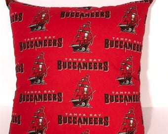 Tampa Bay Buccaneers Pillow Cover