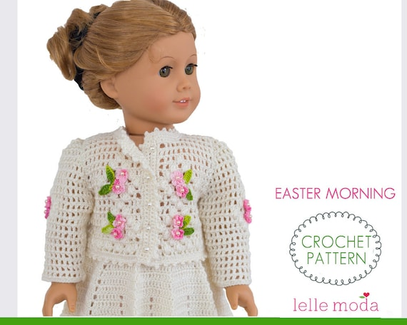 55 Free Crochet Patterns For American Girl Dolls To Make Your