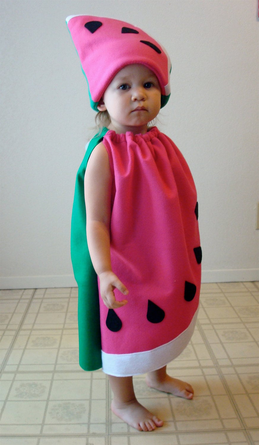 ?zoom  sc 1 st  Etsy & Baby Costume Watermelon Fruit Food Toddler Infant Newborn