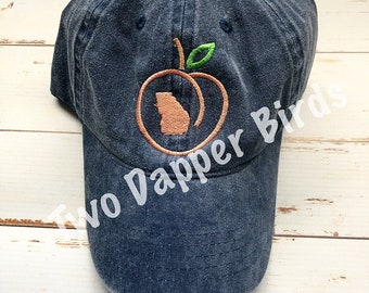 Georgia Peach Hat