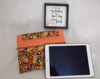 "Tablet cover, tablet sleeve, table case, iPad, iPad Mini, 7"" NOOK, 7"" Samsung, Kindle E-reader, Voyage, Oasis, Glowlight Plus,"