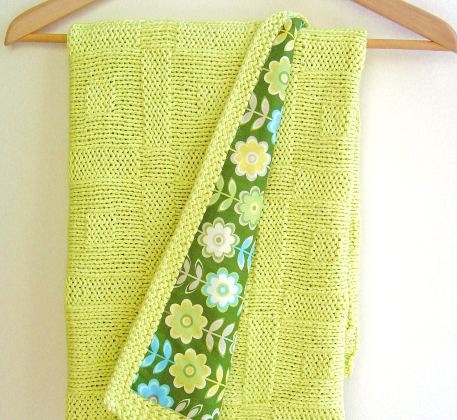 Knitting pattern Baby Blanket Easy Beginner Baby Blanket