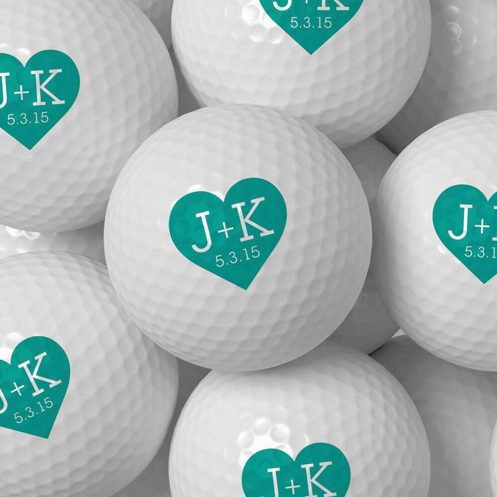 Custom Golf Ball Wedding Favor Personalized Golf Balls Bulk