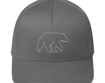 Bear (Go Explore) Structured Twill Cap
