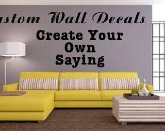 Custom Wall Decals