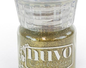 Nuvo gold  enchanted embossing powder n596