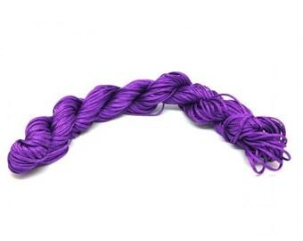 25 m Nylon Purple 1 mm wire