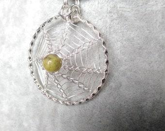 necklace spider web