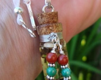 Protect Me From All Evil / Vervain Protection Talisman / Charm / wiccan / Pagan / Free Ship in US