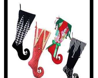 Jester Christmas Stocking Pattern