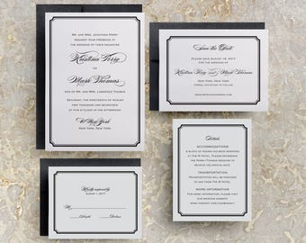 Modern Script Wedding Invitations, Simple Wedding Invitations, Elegant Wedding Invitations, Sweet 16 Invitations, Quinceanera Invitations