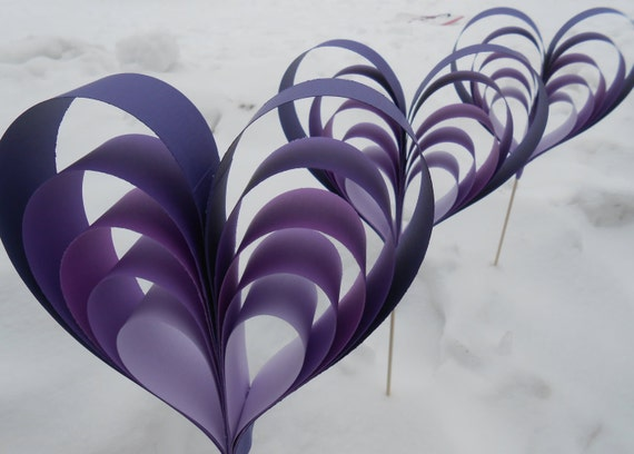 Huge Heart Decorations. 3 Hearts. Wedding Aisle Decoration, Centerpiece. Custom Orders Welcome