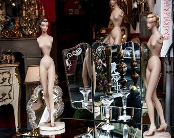 Paris Flea Market Photography, Color Photography, Travel Photography, Naked Ladies, Digital Photography,