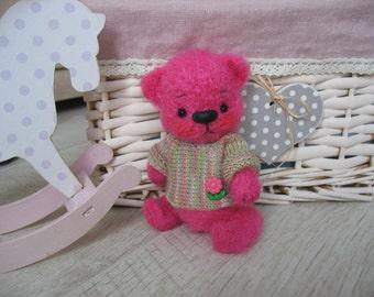 Bear Berry, crochet teddy bear, crocheted toys