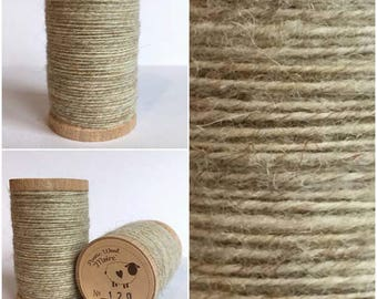 Rustic Moire Wool Thread #120