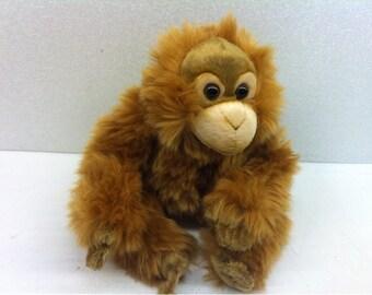 Orangutan Brown Monkey Plush Stuffed Animal Toy WWF
