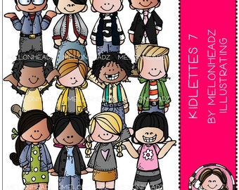 Kidlettes clip art Part 7 - COMBO PACK