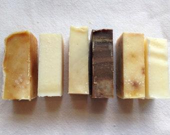 Organic Soap - Mini Bars - Vegan - Favours - Sample Size