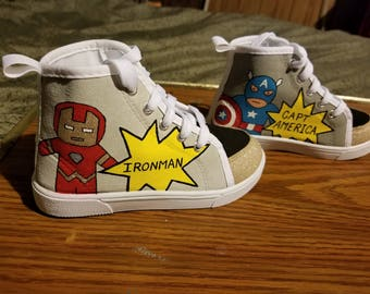 Toddler size 10 hero shoes