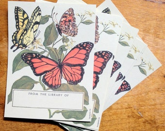 Butterfly Painting Antioch Bookplate