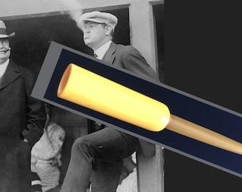 Hard to Find Vintage Gold Bakelite and Celluloid Cigarette Holder, As Found