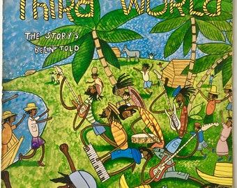 Third World - The Story's Been Told LP Vinyl Record Album, Island Records - ILPS 9569, Reggea. Roots Reggae, 1979, Original Pressing