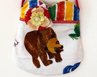 Brown Bear Brown Bear purse, toddler purse, girls purse, bag