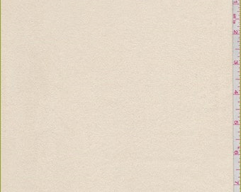 Yellow Beige Microsuede, Fabric By The Yard