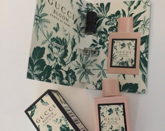 Gucci bloom miniature perfume plus sample