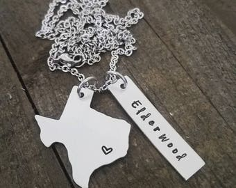LDS U.S. STATESIDE Missionary necklace! A perfect gift for a SISTER Missionary, a Missionary Mom, or a Missionary Girlfriend