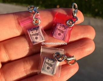 Authentic Miniature Money Bag Charms!