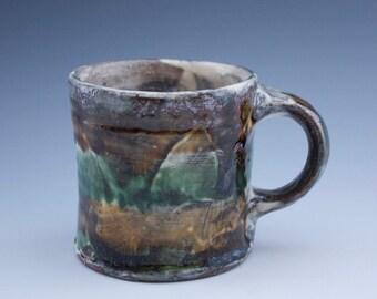Mug - Sarah Matesz Pottery - Wheel Thrown - Hand Painted