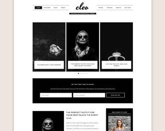 Cleo WordPress Theme • Genesis Framework • Premium WordPress Theme • Responsive WordPress Theme • Minimalist WordPress Theme • Blog Template
