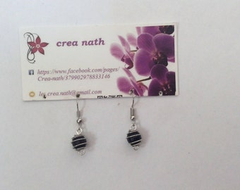 earring bead cage