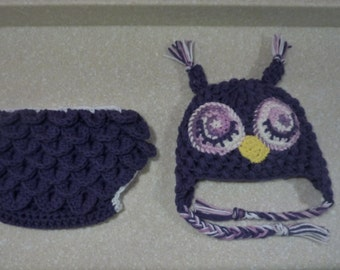 Ruffle Butt Owl Costume and Photo Prop