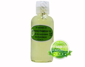 4 OZ Evening Primrose Oil 100% Pure Organic Cold Pressed