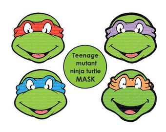 Instant dl teenage mutant ninja turtles eyes 3 size for instant dl teenage mutant ninja turtles mask printable birthday party filmwisefo