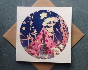 Magic Tent, Greetings Card
