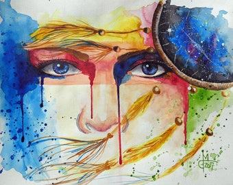 Watercolor Painting ORIGINAL