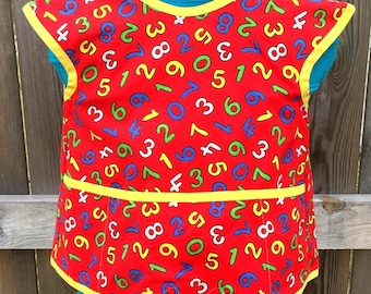 Children's Numbers Smock - Size 6