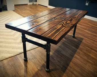 Industrial Pipe Coffee Table | Low Shipping | Pipe Table