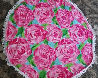 Lilly Inspired Round Towel