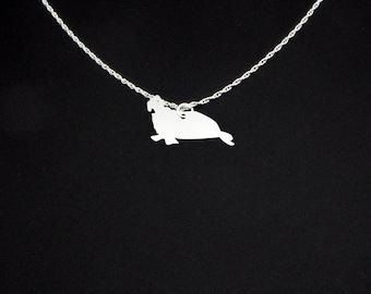 Elephant Seal Necklace - Elephant Seal Jewelry - Elephant Seal Gift