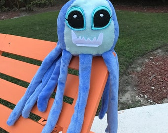 plushy octopus stuffed animal