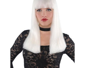 Electra Glow-in-the-Dark Wig,Adult wig,Party wig